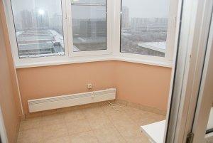 Утепление пола на балконе и потолка
