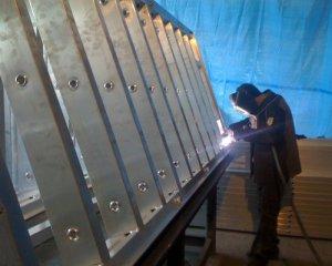 Как производится ремонт алюминиевой опалубки