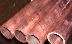 Разновидности бронзовых труб