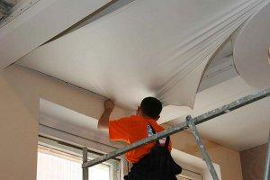 Демонтируем натяжной потолок своими руками