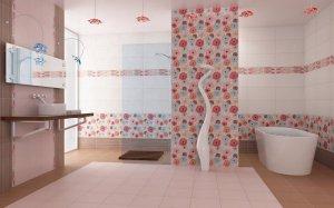 Рекомендации по выбору керамической плитки в ванной