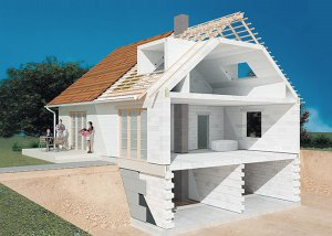 Достоинства и недостатки строительства домов из газобетона