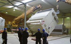 Меры безопасности при подготовке технологического оборудования к монтажу