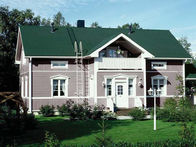 Зеленый дом фото